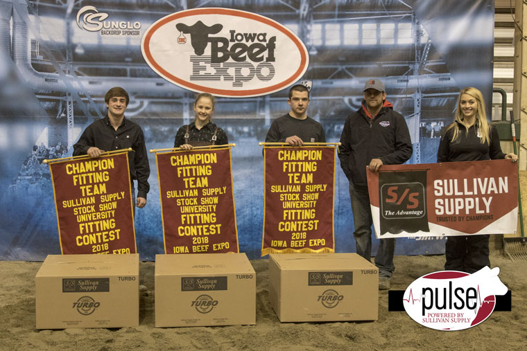 Champion Fitting Team - 2018 Iowa Beef Expo