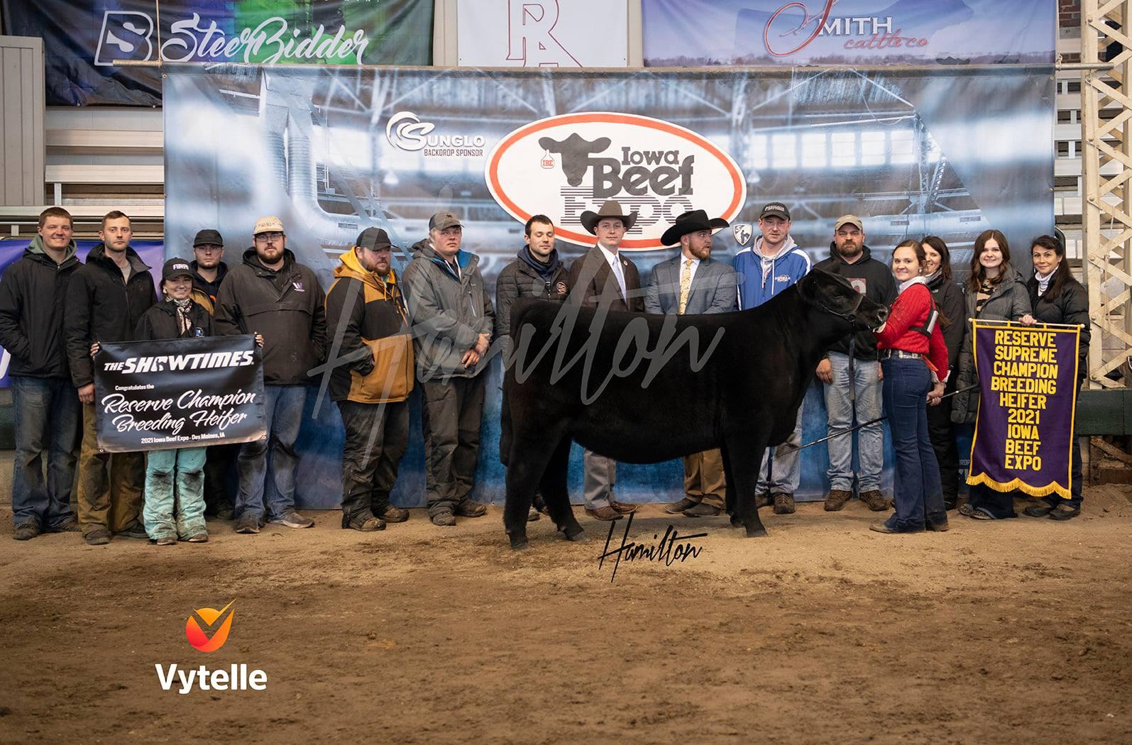 Reserve Grand Champion Heifer